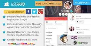 Client Portal - плагин WordPress для создания личной страницы пользователя
